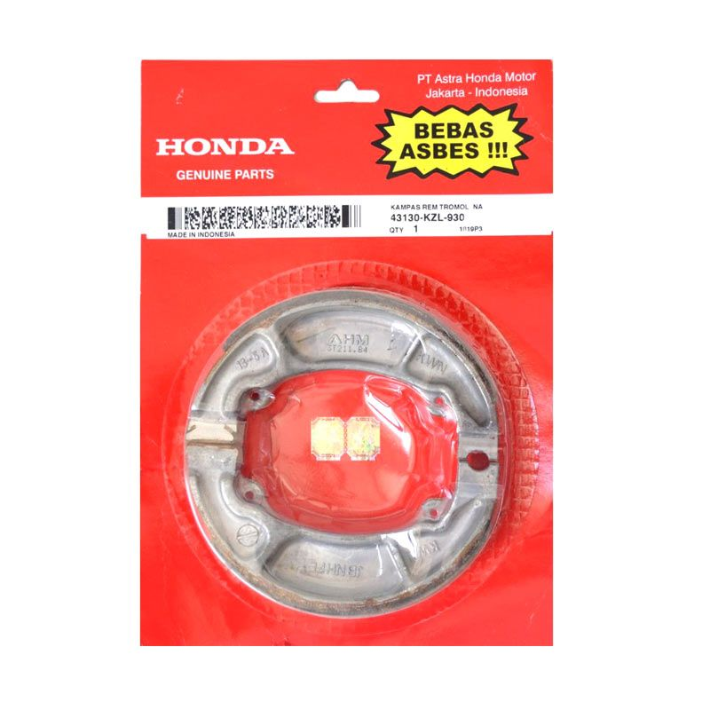Honda Genuine Parts Kampas Rem Original 43130KZL930